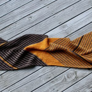 Biased Striped Stole 01