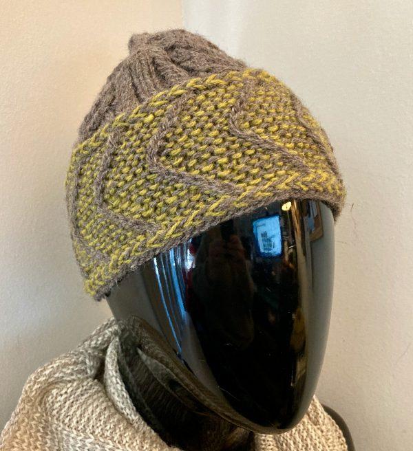 Chevron Brimmed Hat CBH0020 02