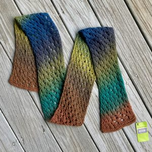 Cross Hatch Scarf Rich Color CHS0020 01