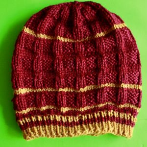 Gridditch Beanie Gryffindor Colors 01