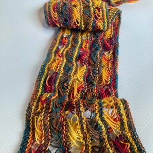 Knitted Cross Stitch Scarf CSS0070 03