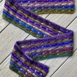 Knitted Cross Stitch Scarf CSS0350 03