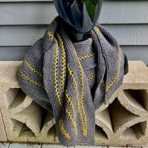 Converging Lines Shawl 03